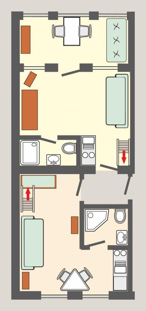 Appartement 11 & 12