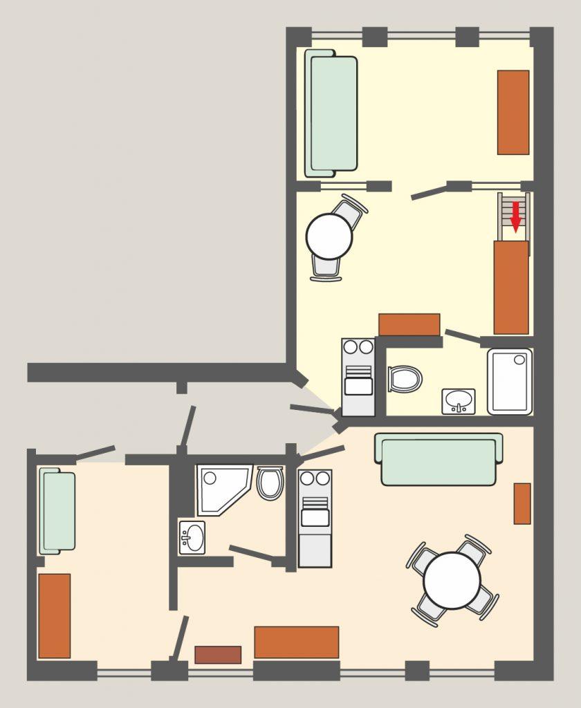 Appartement 14 & 15